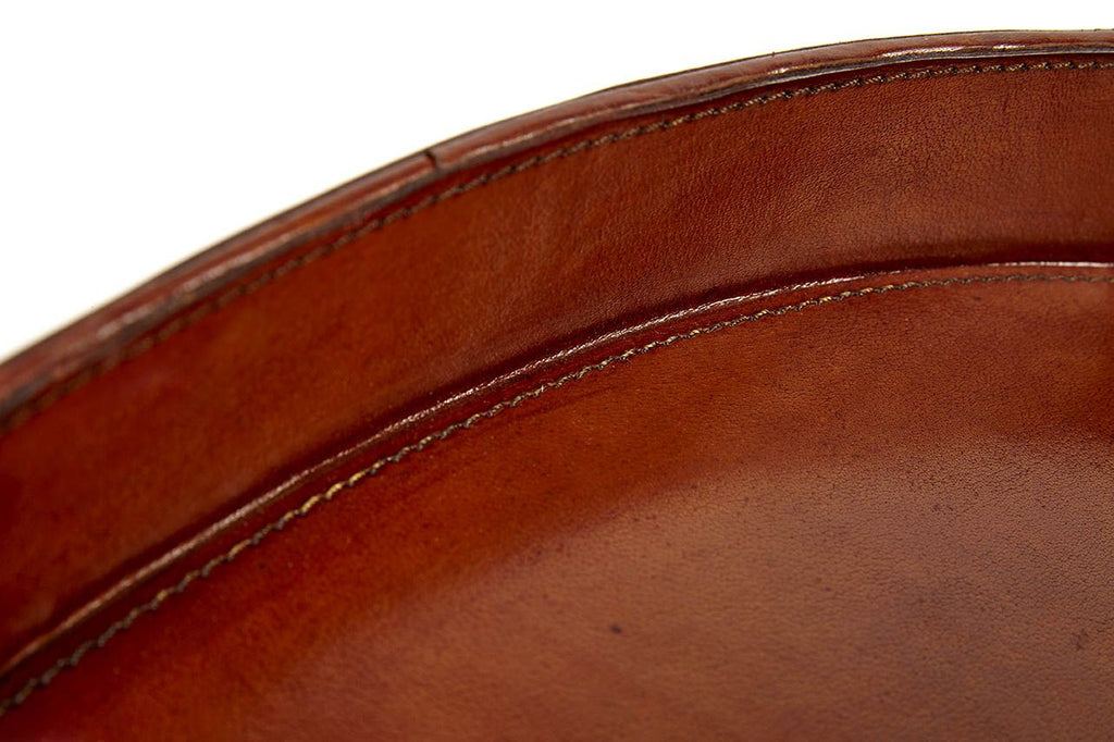 Portman Leather serving tray