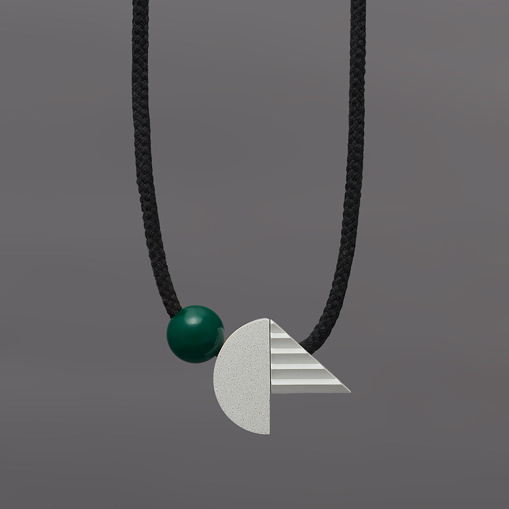 Pop necklace (green)
