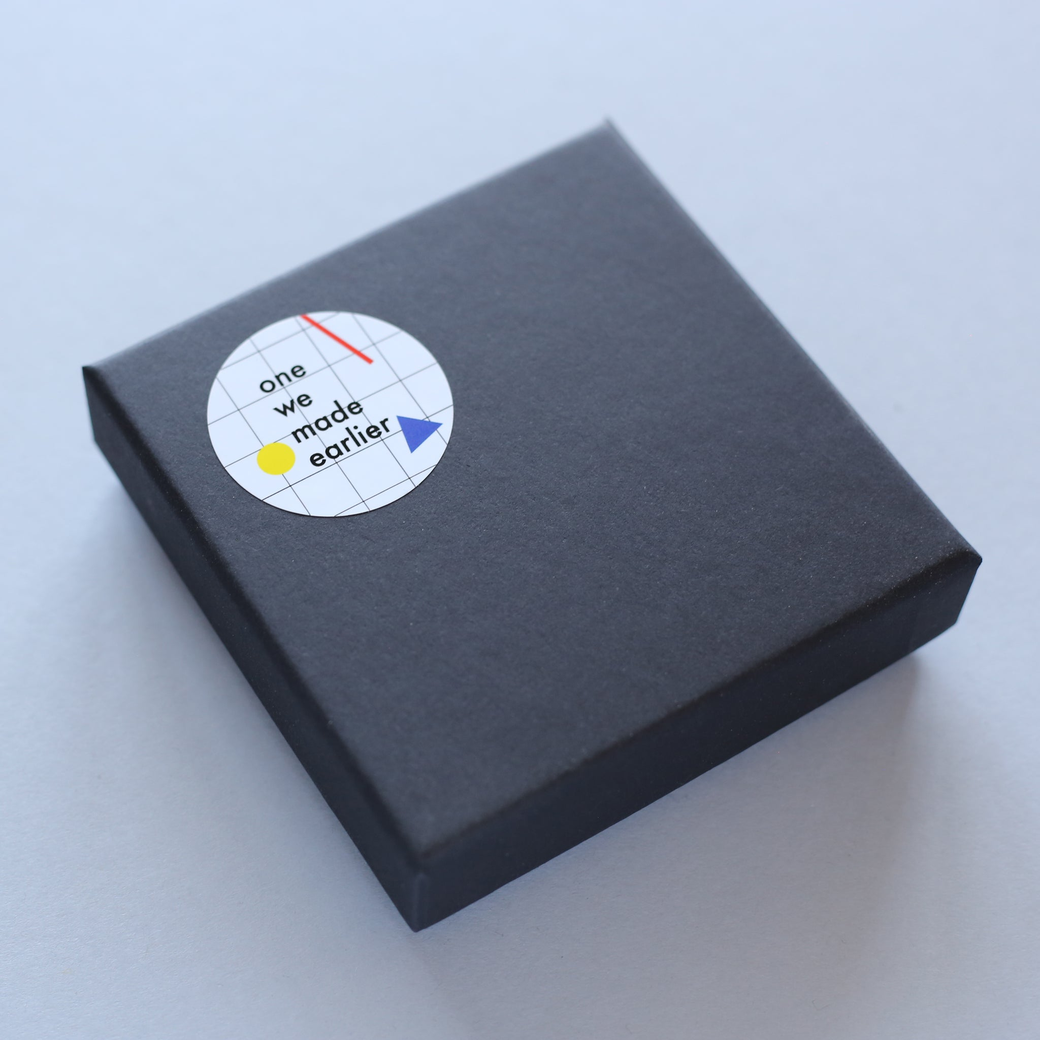 Packaging for Joy brooch by One We Made Earlier