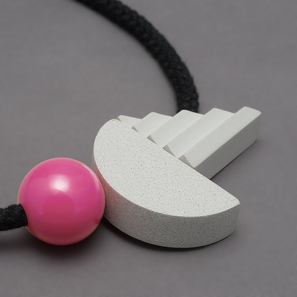 Pop necklace (pink)