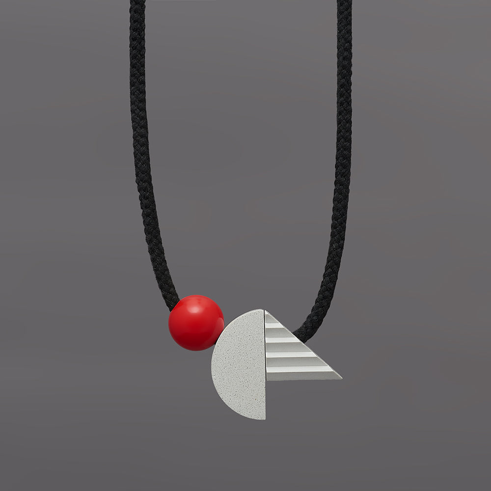 Pop necklace (red)
