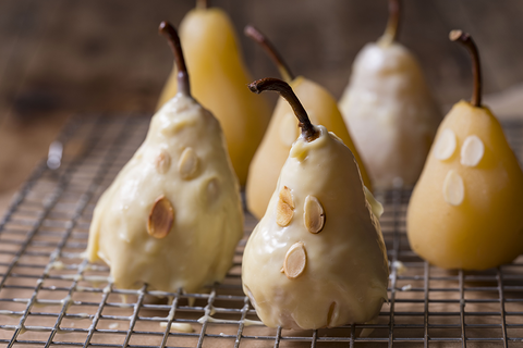 Ghoulish Cinnamon & Pear Ghosts