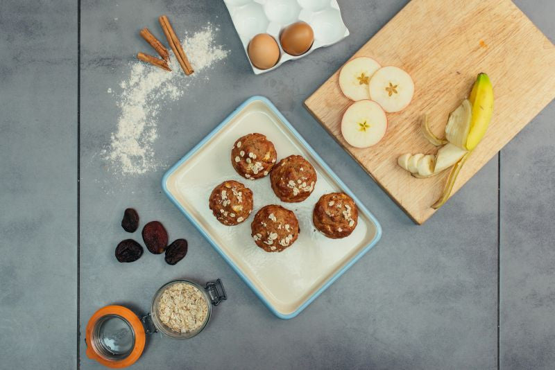 Piccolo Apple & Apricot Muffins