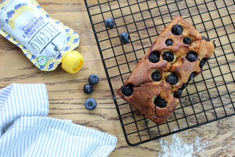 Banana & Blueberry Cake