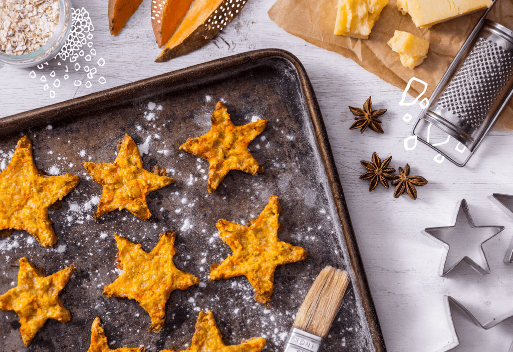 Sweet Potato & Cinnamon Stars