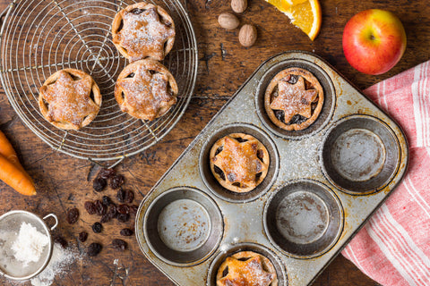 Zesty Carrot & Orange Mince Pies
