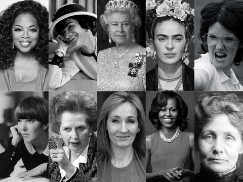 10 Inspirational Women Who've Changed Our World