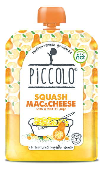 Squash Mac & Cheese - with a hint of sage