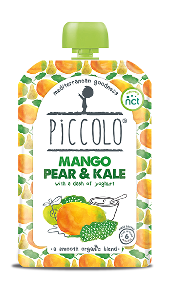 Mango Pear and Kale - with a dash of yoghurt