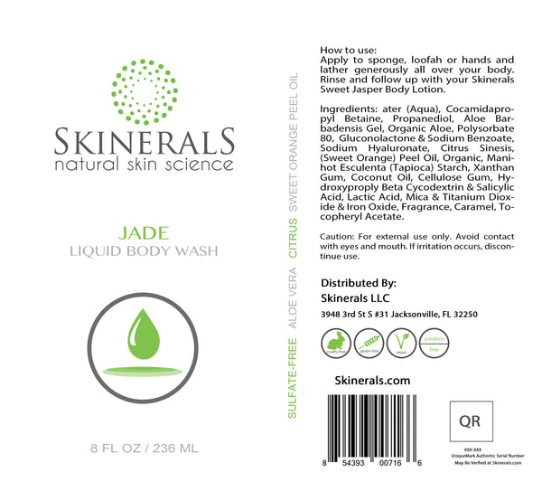 Jade Liquid Body Wash