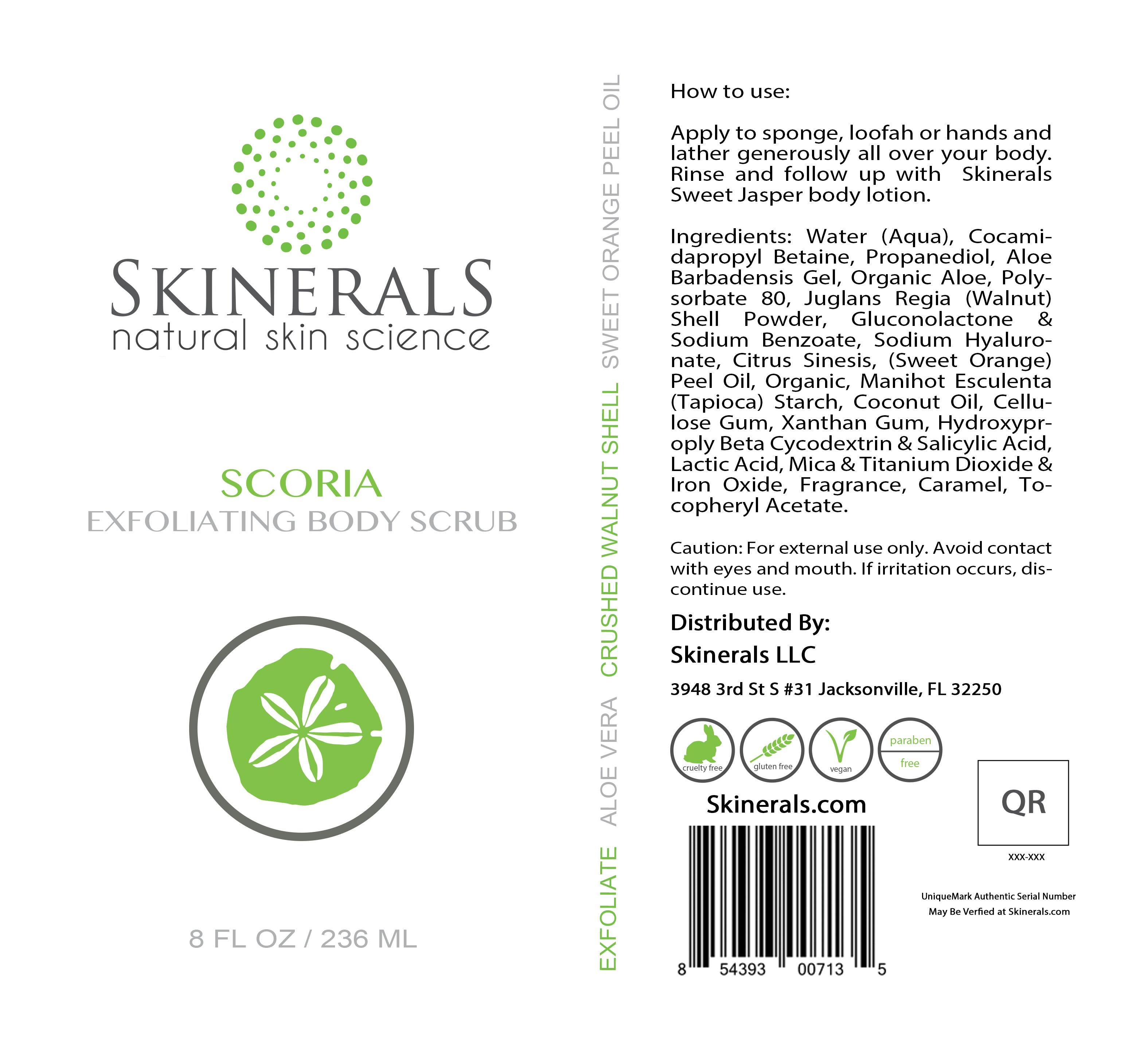 Scoria Exfoliating Body Scrub