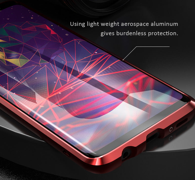 Light weight aerospace aluminum frame for Samsung Galaxy S9/9S Plus