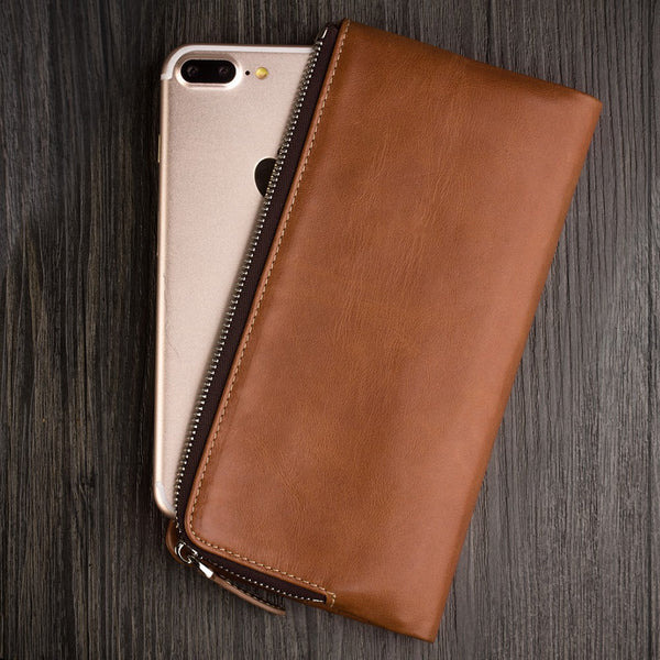 Genuine Cowhide Leather Multiple Function Wallet for iPhone 7,6/6S,iPhone 7 Plus,6/6S Plus.