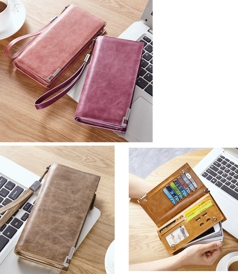 "Genuine Leather Wallet Style cases for iPhone 6/7/8 Plus, iPhone X, XS, XS Max, XR, Fits to screen5.5""-6.8"" phones."