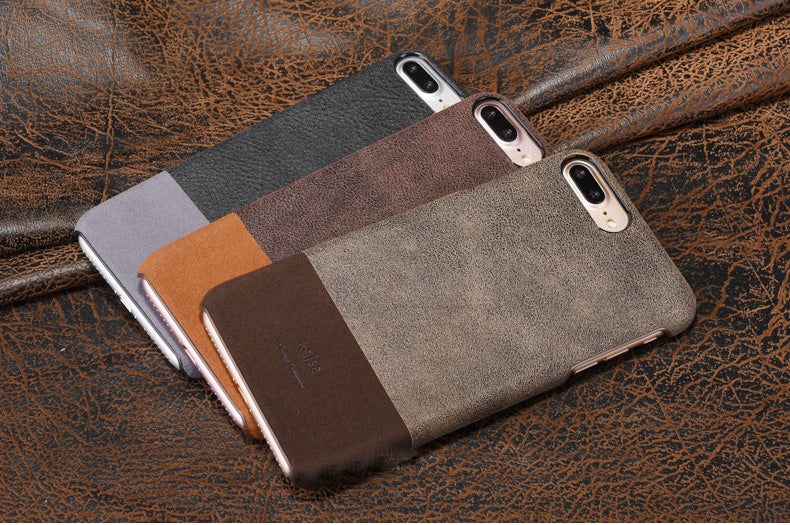 Kajsa Retro Design Genuine Leather Cases/Skins for iPhone 7, iPhone 7 Plus