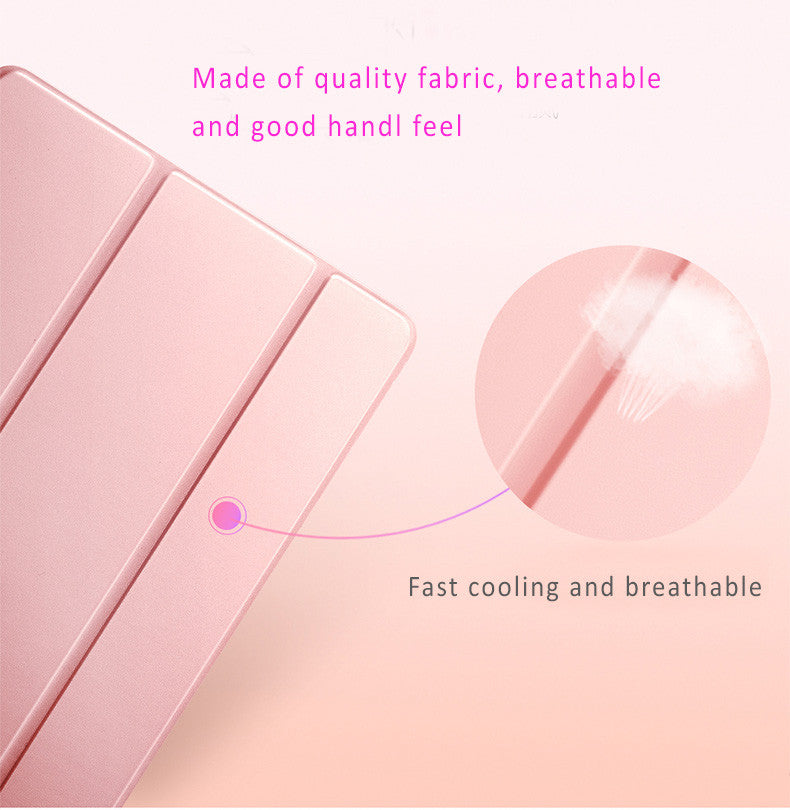 "Quality Breathable Fabric Smart Covers for iPad Pro 12.9"" 2nd generation to give the best protection."