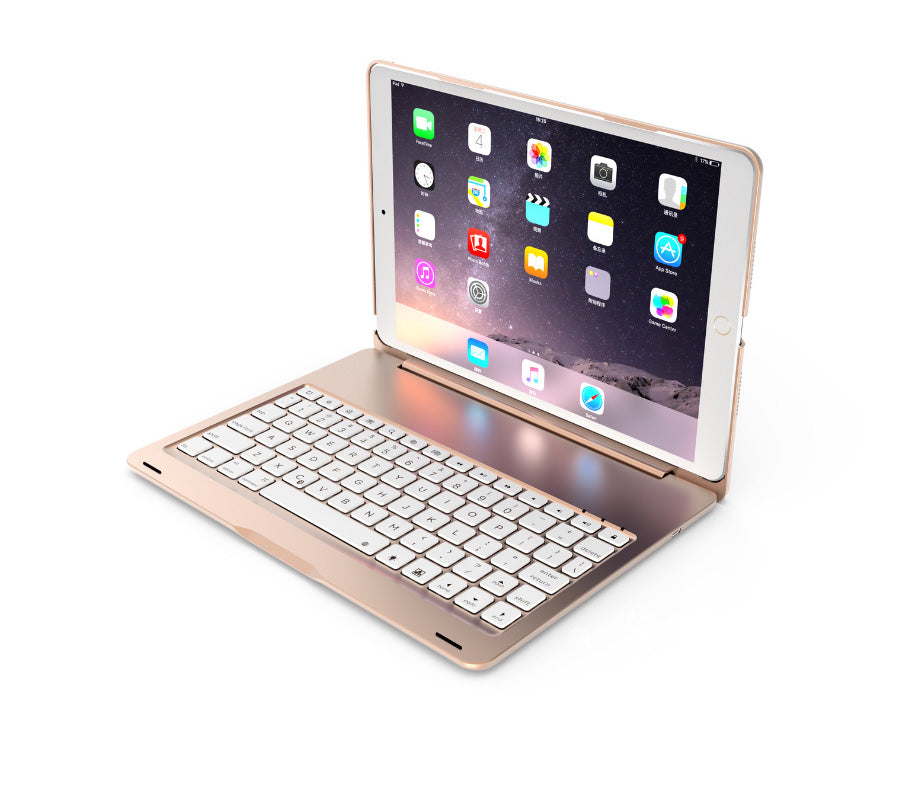 "Ultra thin aluminum smart cover  with Bluetooth keyboard  for iPad Pro 10.5"" Anti-Water Splash, Intelligent Sensor"