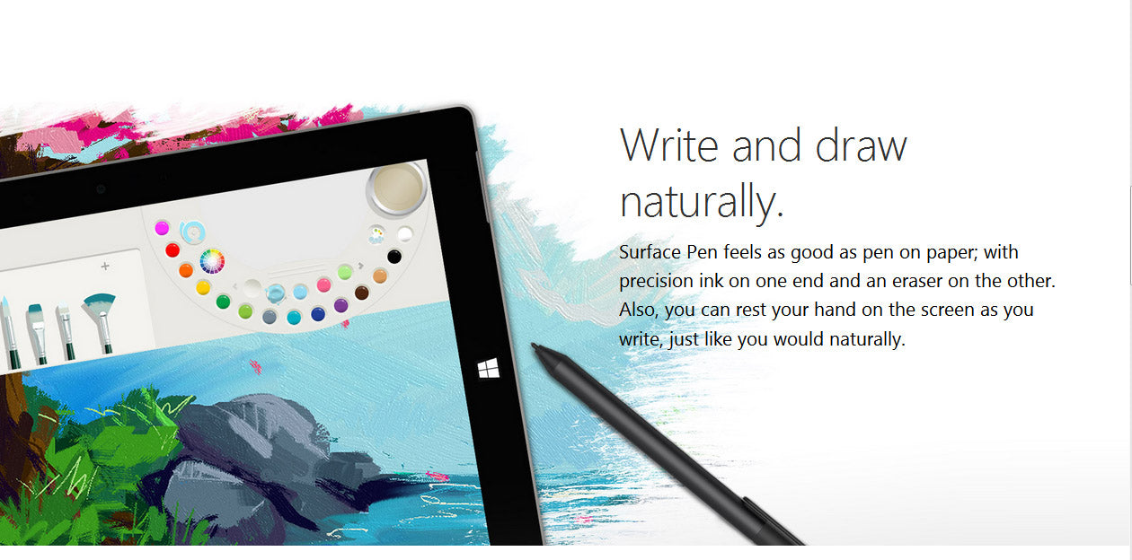 Microsoft Official Surface Pro 7,6, 5,4, 3 Surface Book, Surface Studio Stylus Pen + Tip Kit (Tips-2H, HB, B)