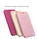 Genuine Calfskin Covers for iPhone 6/6S, 6/6S Plus  with flip cover - Exclusive design for ladies.