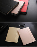 Ultra thin (0.4cm), multiple angles smart cover with Bluetooth keyboard for iPad Air 1,2 and iPad Pro.