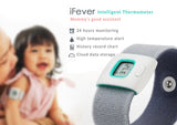 iFever Intelligent Thermometer - 24 hours monitoring,  High temperature alert,  History record chart,  Cloud data storage