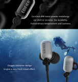 Edifier Oxygen Sports Bluetooth headset headphones, aptX audio decoding, IPX7 waterproof, cool design.