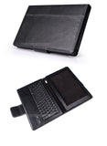 Seenda Fine Leather  Cover Case with Removable Bluetooth 3.0 Keyboard for Sony Xperia Tablet Z 10.1