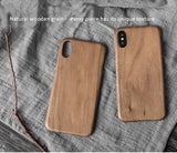 Solid wood phone cases/shells with Kevlar fabric applied in for iPhone X. Give your phone an armor protection.
