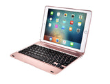 "Bluetooth keyboard for iPad new 9.7"" iPad Pro 9.7 iPad Air 2,1 with light full cover"