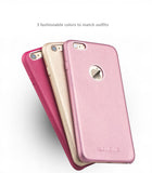 iPhone 6/6S, 6/6S Plus Genuine Calfskin Leather Cases/Skins-Rose series Exclusive Design for Ladies.