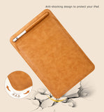 "Leather Envelope Sleeve for iPad 10.2"" 2019 - with Stylus Pen Holder and Stand Feature"