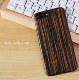 iPhone 8/7, 8/7 Plus Solid wood phone cases / shells with Kevlar fabric inner. Give your phone an armor protection.