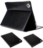Seenda Classic Smart Covers for iPad 2, 3 & 4 Genuine Leather with Snakeskin Textured with Metal Frame and Auto-sleep Feature