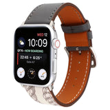 Genuine Leather Watch Bands/Straps for Apple Watch 6, 5, 4, 3, 2, 1 Single Loop Strap - for 38, 40, 42, 44mm