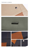 Genuine Leather+Nylon Fabrics Envelope Sleeve for Microsoft Surface Pro Samsung Galaxy Note 12.2""
