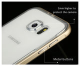 Baseus Fusion Series for Samsung Galaxy S6/S6 edge Protective Case - Metal frame + TPU Back Shell