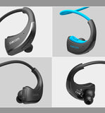 Dacom Armor Sports Bluetooth Headset, Headphones with CVC Noise Isolation, IPX 5 Waterproof.