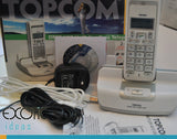 Topcom Bulter 4812 USB  VoIP Cordless 2in1 Dual Skype + Standard Phone