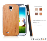 Real Wood Covers, Skin for Samsung Galaxy S4 i9500 - Rosewood, Walnut, Cherry, White Maple