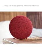 Remax Hi-Fi Surround Sound Speaker with Linen Fabric Authentic Sound Enhanced Bass