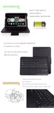 Seenda leather smart cover with detachable Bluetooth keyboard for Kindle Fire HDX 8.9, built-in stand and magnetic keyboard