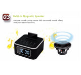 Bluetooth LCD Dual-Channel Speaker/Mp3 Player+Dock for iPhone,Android,Phone,iPad,Android Tablets