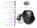 U8 - Bluetooth Smart Watch OLED touch screen, Waterproof. Comprehensive feattures - Time, Pedometer, Hands-free calls, Mobile Sync, Music Player, Instant Messengers