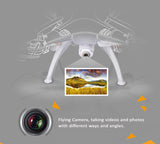 Syma X5SW 2.4Ghz 6-axis gyroscope WiFi RC Quadcopter Drone,2M Pixel HD Camera FPV transmitting.