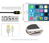 Lightning USB Cable for iPhone 5/5S/6/6S,6/6S Plus, iPad Air, iPad Mini 2,3,4