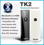 TK2 Bluetooth 2.1 + EDR Wireless Handset for iPhone,  iPad, HTC, Samsung, Nokia, Blackberry...etc. Smart Phones