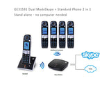 GE31591 Dual Mode Skype and Landline Phone, No PC needed, Cordless, Hands Free