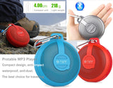 Bluetooth Outdoor Music MP3 Player with Stereo Speaker, Calls Answer, Waterproof, Anti-dust