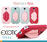 8thDays Monroe's Kisses Series Case Skin for  Samsung Galaxy S4 i9500 - One compact case - Slide in
