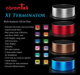 Abramtek XI - Terminator- MP3 Player Surround Sound + Subwoofer Effect Speaker. FM, LED Display
